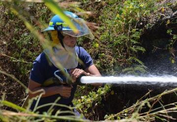Urge una estación de bomberos en Santa Rosa de Lima