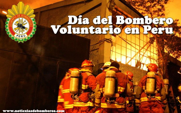 Saludamos en su 155º aniversario a los Bomberos Voluntarios del Peru