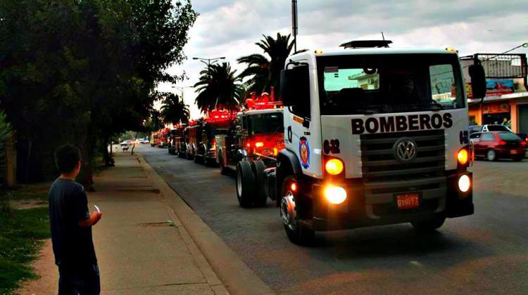 Bomberos Voluntarios de Garin adquirió un camión O Km
