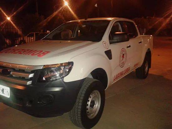 Nueva Ford Ranger para Bomberos de Laguna Larga