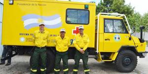 Entregaron una unidad de traslado para el Plan Provincial de Manejo del Fuego