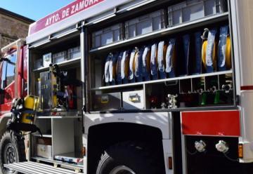 Los bomberos de Zamora estrenan camión autobomba