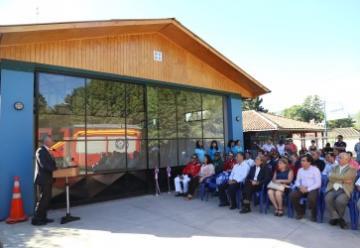 Inauguran nuevas dependencias de Bomberos de El Tambo