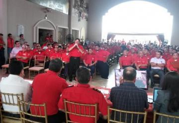 El presidente Rafael Correa respaldó cobro de tasa para Bomberos