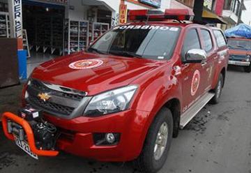 Bomberos de Santa María adquirió una camioneta de rescate