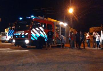 Bomberos Voluntarios de Jesús María recibio una autobomba