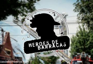 Sirenas y banderas a media asta por los bomberos muertos en Barracas