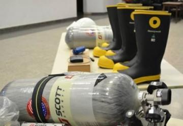 Bomberos presentó nuevo equipamiento