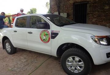 La Asociación de Bomberos Voluntarios de Federal recibió una pick up 0 kilometro