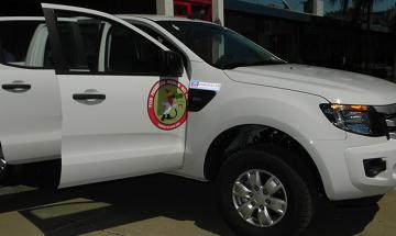 Bomberos Voluntarios de San Salvador se presentó a la sociedad la nueva unidad 4×4