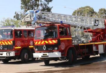 Dos nuevas movilidades recibieron los bomberos de Guaymallén