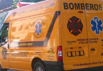 La 18va Compañía de bomberos de San José Limpio presento nueva ambulancia