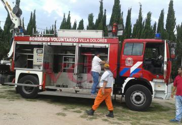 Bomberos Voluntarios de Villa Dolores presento nueva unidad de rescate
