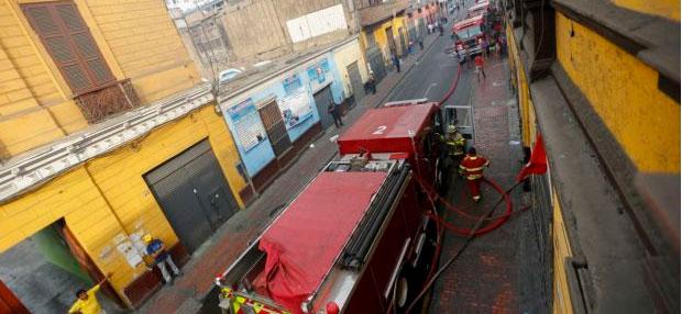 Bomberos no pudieron utilizar hidrantes