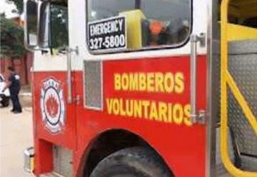 En Trinidad bomberos celebran aniversario sin carro