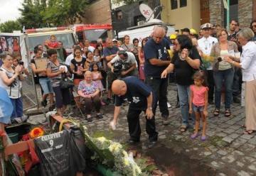 Para los familiares, el incendio «fue intencional»
