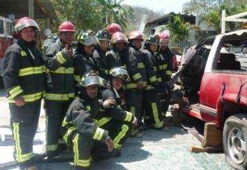 Acusan corrupción en bomberos de Huatulco