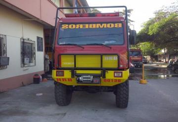Bomberos de La Ceiba recibe nueva unidad de rescate