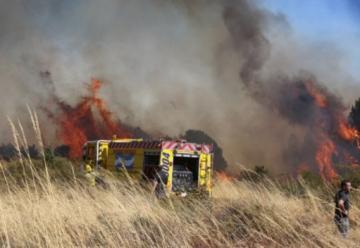 Un nuevo incendio forestal azotó a Bariloche