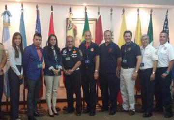 Guatemala reunió a los máximos dirigentes bomberiles de América