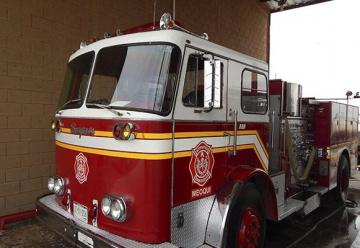 Entrega alcalde de la capital unidad a bomberos Meoqui