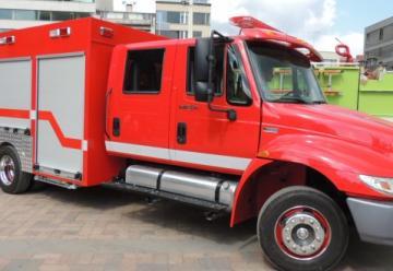 Bomberos de Duitama presentó la nueva máquina para atender emergencias