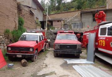 Desalojan del cuartel a Compañía de Bomberos 179 Lircay