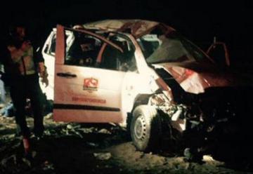Bomberos que ayudaban en Chañaral sufren fatal accidente: Un muerto y tres heridos