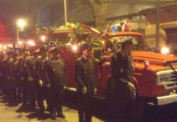 Valparaíso despide a superintendente de Bomberos de Olmué en multitudinario funeral
