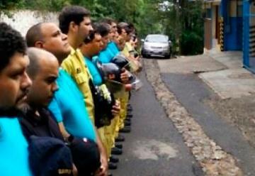 Bomberos declaran tres días de duelo por el fallecimiento de sus camaradas