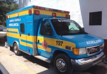 La Dirección de Bomberos de Chapala cuenta con una nueva ambulancia