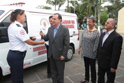 Nueva unidad de rescate pusieron al servicio de los piedecuestanos