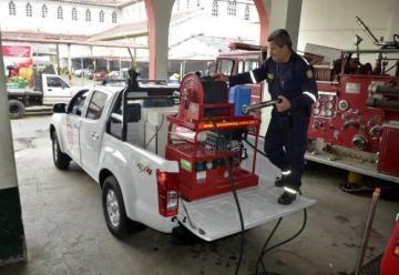 Bomberos de Santa Rosa de Cabal adquirió una unidad de ataque rápido