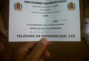 Denuncian estafas a nombre de bomberos