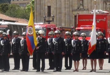 El Cuerpo de Bomberos de Bogotá conmemora este jueves sus 120 años