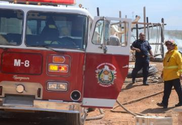 Falta de mantenimiento a unidades de bomberos