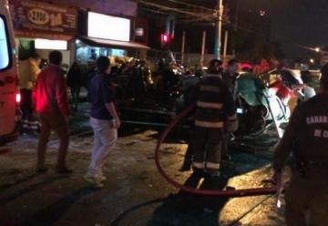 Carabineros es declarado responsable de accidente entre helicóptero policial y carro de bomberos
