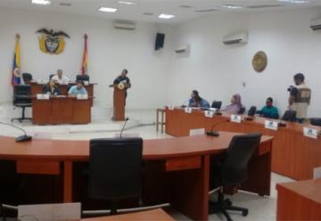 Cuerpo de Bomberos expone crítica situación financiera ante Concejo de Barranquilla