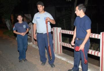 Intentaron asaltar a bomberos voluntarios en San Lorenzo