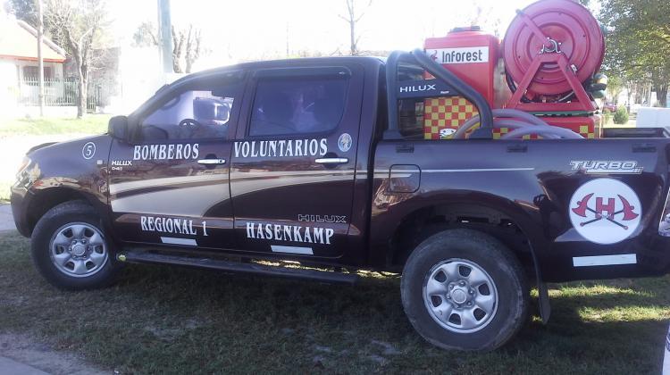 Nueva unidad de ataque rapido para bomberos de Hasenkamp
