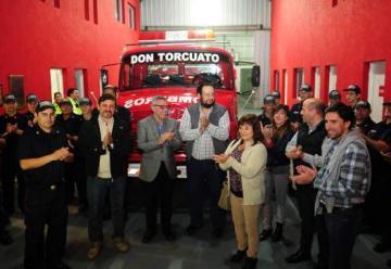 Nueva autobomba para los bomberos de Don Torcuato