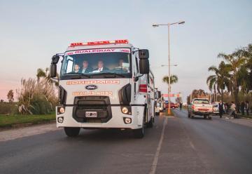 Bomberos de Gualeguay recibio nueva unidad OKm