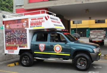Los Bomberos de Itagüí se siguen modernizando