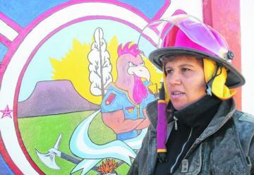 Mariano Moreno tiene su primera jefa de bomberos