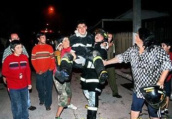 Brutal agresión a Bomberos que combatían incendio