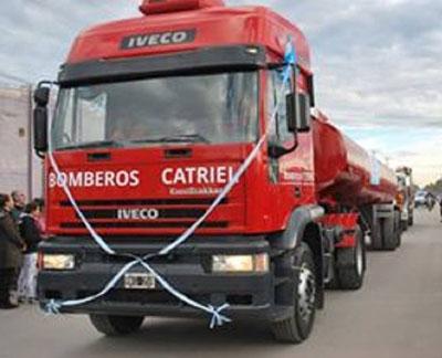 Bomberos Voluntarios de Catriel incorporaron otro camión