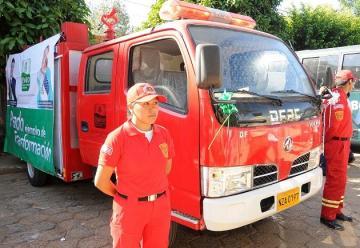 Comando Policial de Pando se fortalece con la entrega de un carro bomba