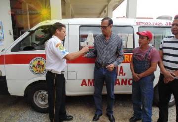 La 133 Compañía de Bomberos recibe su primera ambulancia