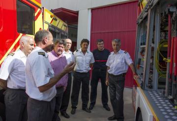 La Diputación adquiere un nuevo camión de bomberos