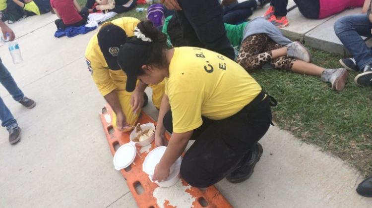 Entrega y pasión en servicio de bomberos
